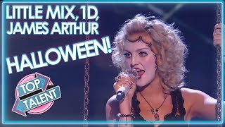 One Direction, Little Mix and James Arthur Do HALLOWEEN! X Factor UK | Top Talent