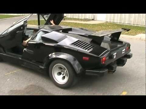Lamborghini Countach 25th Anniversary (Unboosted-Alps ...  |Lamborghini Countach Reverse