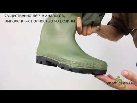 Резиновые болотные сапоги с надставкой из нейлона - Www.DynamicLife.ru