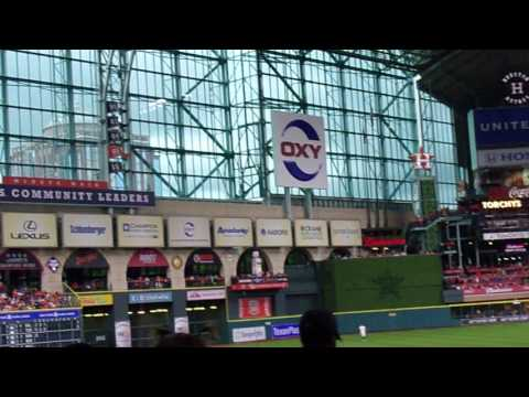 Back at Minute Maid Park - Tuesday Night's Game!
