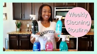 MY WEEKLY CLEANING ROUTINE (CLEAN WITH ME)