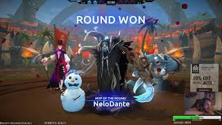 Battlerite - Zander Grandchampion 3v3 solo q match - Treeham cleave