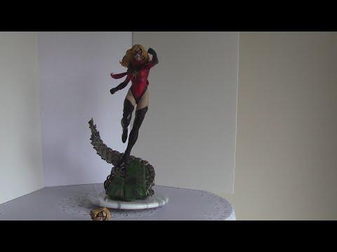 Ms Marvel statue XM Studios Marvel Avengers
