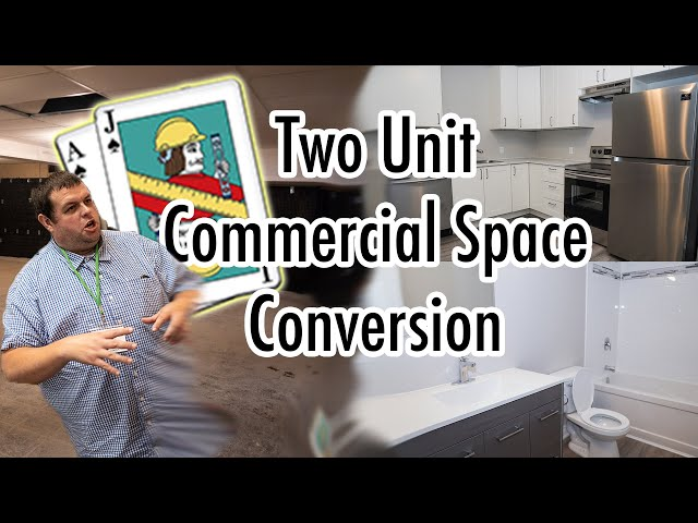Two Unit Commercial Space Renovation- Welland Ontario