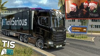 Πάμε Κύπρο! 🎅🏻 - Euro Truck Simulator 2 |#22| TechItSerious