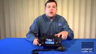 universal radio presents the icom ic 7300 transceiver