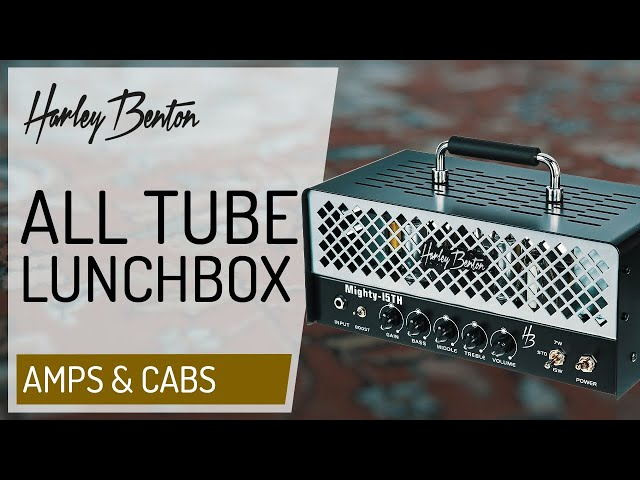 Harley Benton - Mighty-15TH - All Tube Lunchbox Amp -
