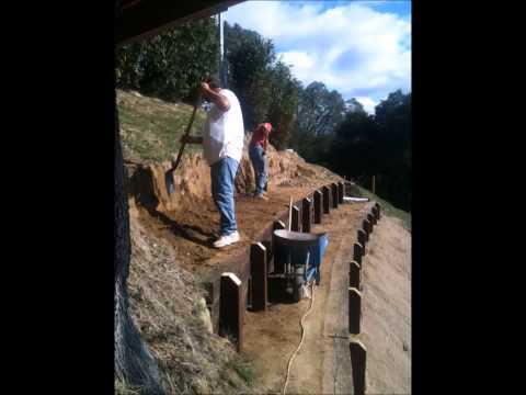 Good way to terrace a hillside