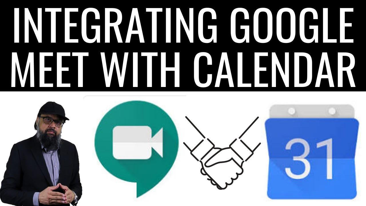 How to Use Google Meet with Google Calendar