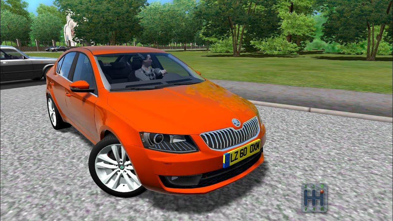 skoda octavia a7 2013 city car driving 1 3 3 download link youtube. Black Bedroom Furniture Sets. Home Design Ideas