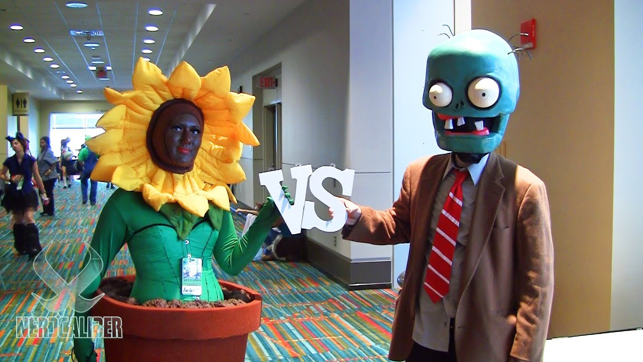 Plants vs zombies cosplay