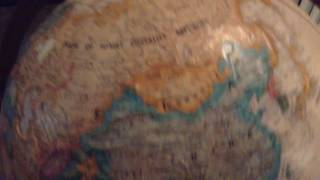 "I put my globe up against the ""Dazed and Confused"" globe to see the..."