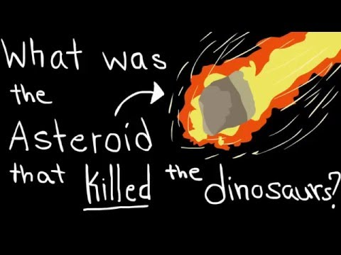 What was the asteroid that killed the dinosaur?   History #1
