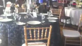 Couture Bridal's table settings