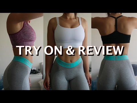 Favorite WORKOUT Tops/Sports Bras |Try on & Review|