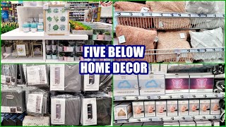 FIVE BELOW ROOM DECOR SHOP WITH ME! NEW HOME DECOR