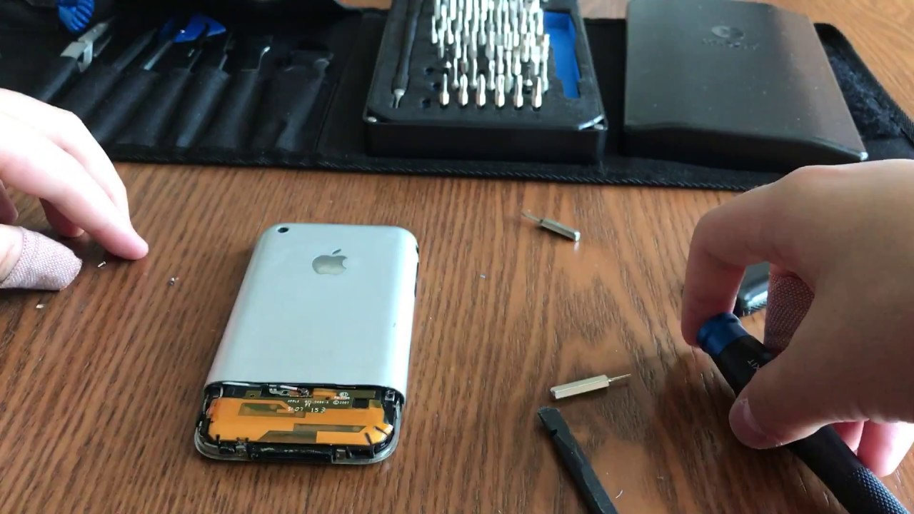 iphone a1303 how to open