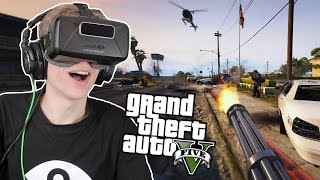 THE ULTIMATE HEIST IN VR! | GTA 5: The Paleto Score (Oculus Rift DK2)
