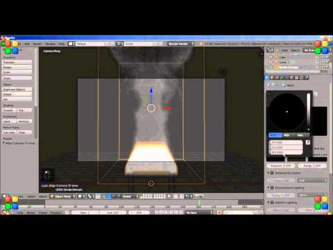 Making Animated Fire for the Blender Game Engine