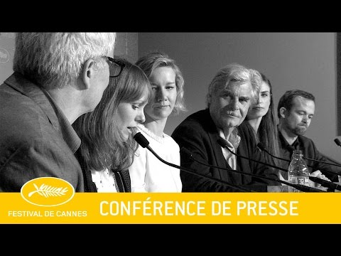 TONY ERDMANN - Press Conference - EV - Cannes 20016