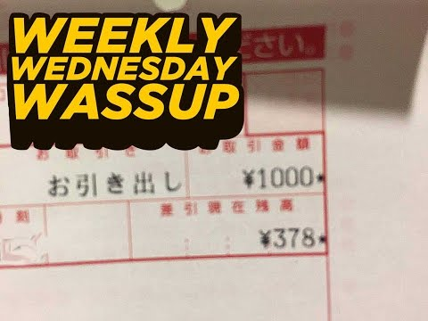 QUITTING YOUTUBE UPDATE, DEPRESSION, $3 IN THE BANK (The Weekly Wednesday Wassup?! 09-14-16)