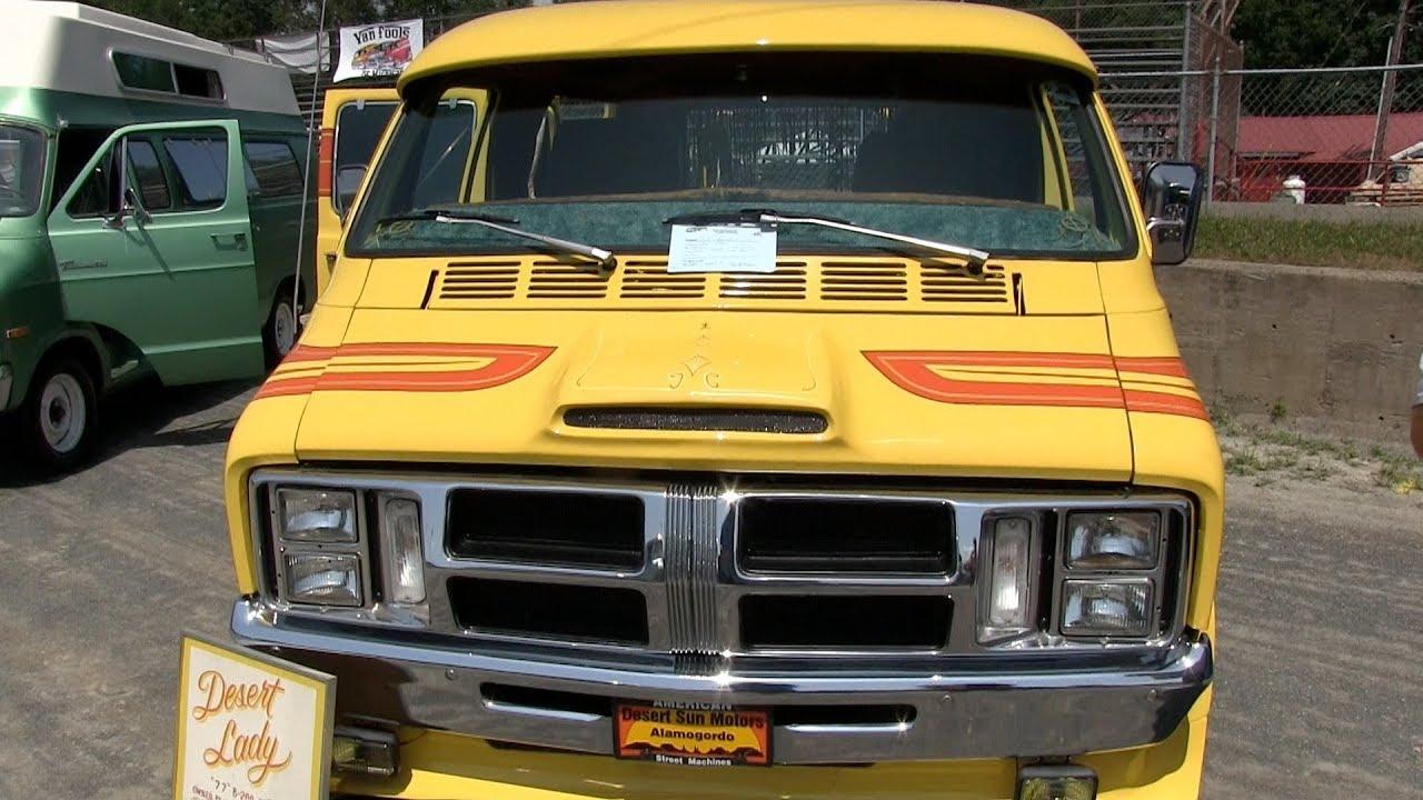 1977 Dodge Van - Desert Lady.