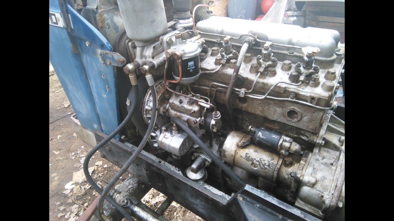 Como purgar un motor diesel cebar bomba de motor diesel video mecanica - YouTube