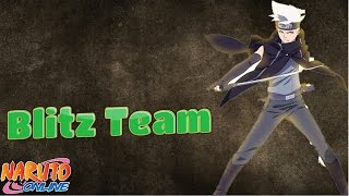 Naruto Online | Blitz Formation With Lightning Main Lineup