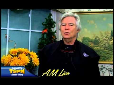 Gordon Rowland on AM Live October 21, 2015