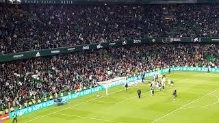 IMPRESIONANTE - Final del Partido. El Real Betis estará en Europa la próxima temporada.