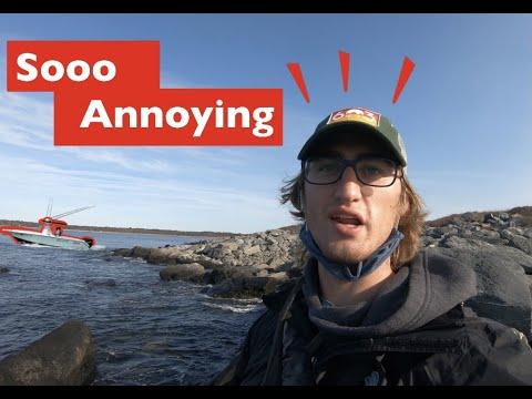 Frustrating Fishing Trip | Rhode Island 2020