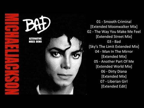 michael jackson bad album alternative mixes demo youtube
