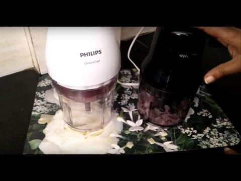 Philips Onion Chef Chopper HR2505 vs Philips HR1393 Vegetable Chopper by Happy Pumpkins