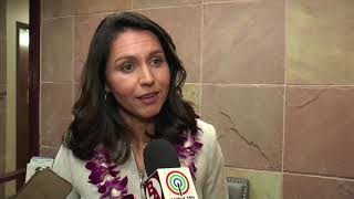 Democrat candidate Tulsi Gabbard meets with Asian American community in Las Vegas