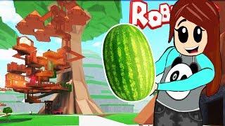 Построить компактный Дом на Дереве в Роблокс #1 Грандиозная Стройка Игра Видео Для Детей