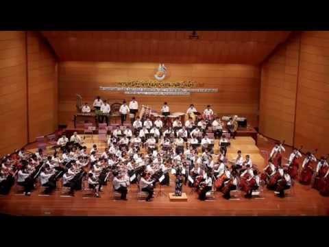 ドラえもん Doraemon - TYO (Thai Youth Orchestra) Thai-Japan Friendship Concert 2015