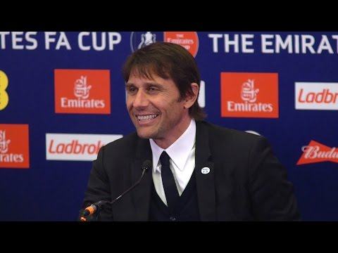 Chelsea 4-2 Tottenham – Antonio Conte Full Post Match Press Conference – FA Cup Semi-Final