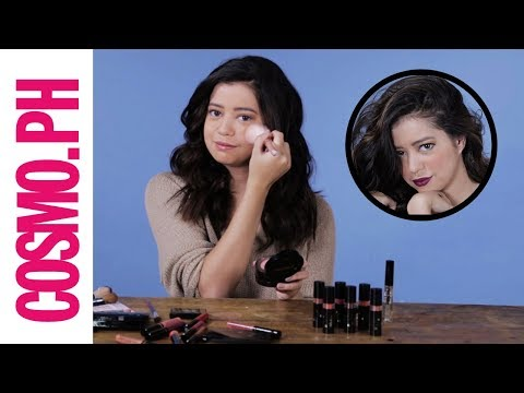 Sue Ramirez Does The No Mirror Makeup Challenge!