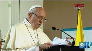 Przemówienie papieża Franciszka wygłoszone w Domu Dobrego Samarytanina oraz Anioł Pański