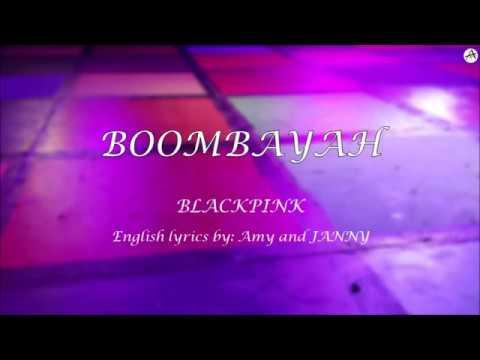 BOOMBAYAH (붐바야) - English KARAOKE - BLACKPINK