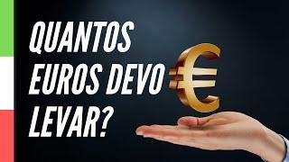 💰Planejamento financeiro: quantos euros devo levar para a Itália?