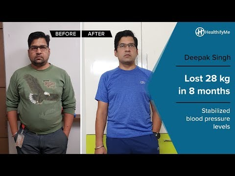 Transformation Stories | Deepak Singh's inspiring weight loss journey| HealthifyMe Mp3