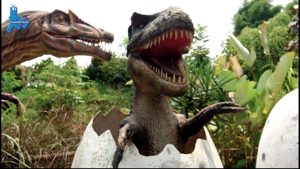 Dinosaurus Taman Mini Indonesia Indah Youtube