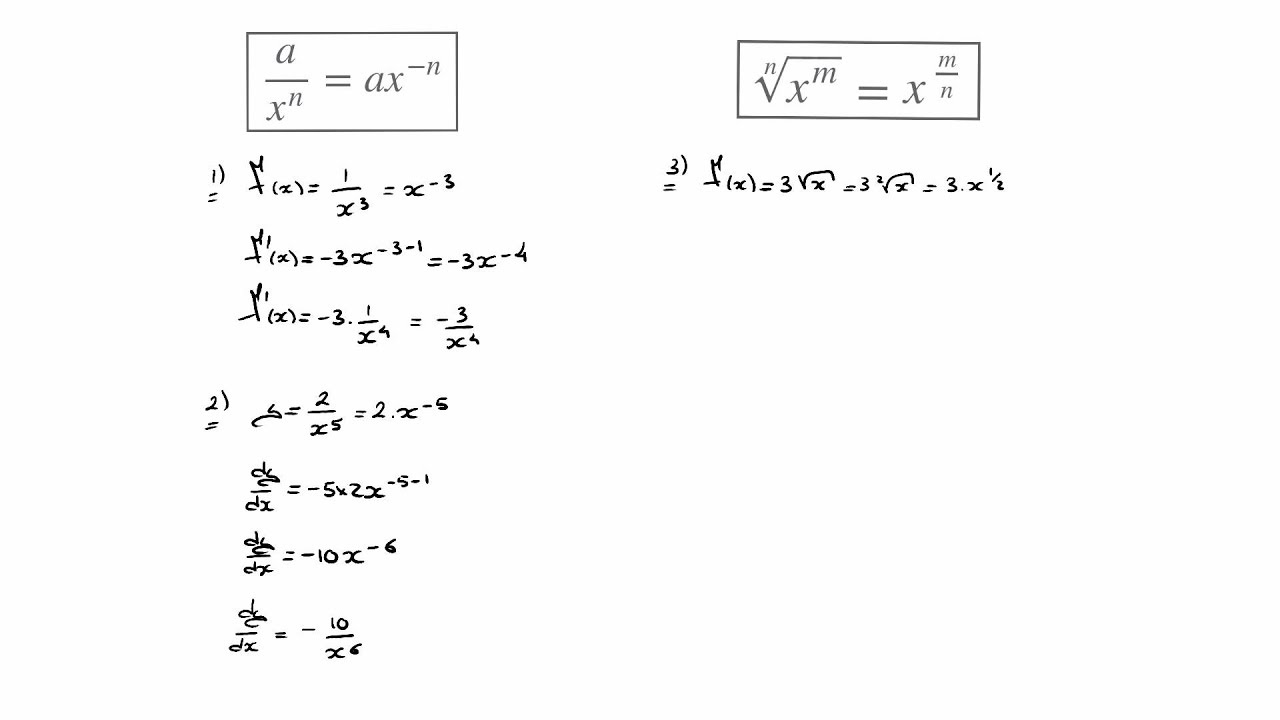 How To Solve Equations With Negative Fraction Exponents
