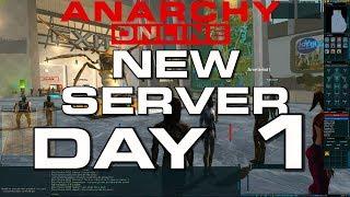Anarchy Online -  NEW SERVER - DAY 1