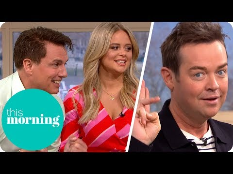 John Barrowman & Emily Atack Play In For a Penny With Stephen Mulhern | This Morning