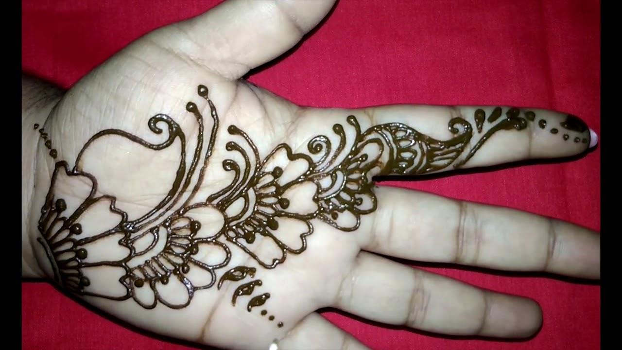 Easy Henna Designs Simple Mehndi Designs For Hands 2017 Flower