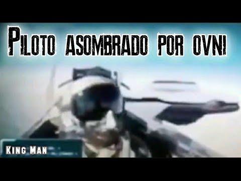Piloto de avión de combate queda asombrado al ver un OVNI