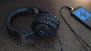 Audio Technica ATH-M30X Review! - Worth it in 2017?