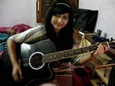 Sun raha hai na tu guitar cover by Priyanka